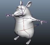 一只小老鼠maya模型