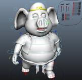 西游记猪八戒maya模型