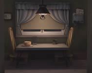 室内,桌子场景maya模型