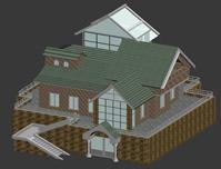 简易别墅3D模型