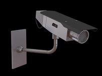 摄像头,监控探头3D模型