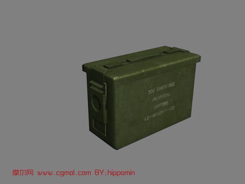弹药箱3D模型