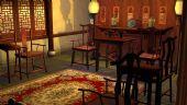 中式古典室内建筑3D模型