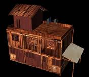 古建筑,老房子3D模型