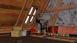 阁楼场景3D模型