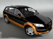 奥迪Q7,3D汽车模型