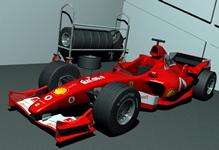 F1赛车maya模型