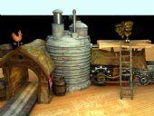 古代场景3D模型