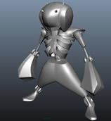 骷髅人3D模型