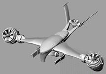 终结者飞行器3D模型