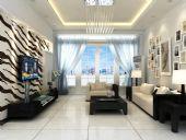 现代客厅设计3D模型