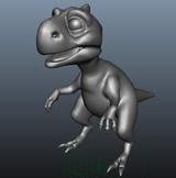冰河世纪小恐龙3D模型