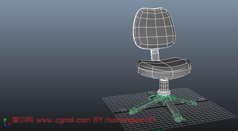 软被椅,办公椅,椅子3D模型