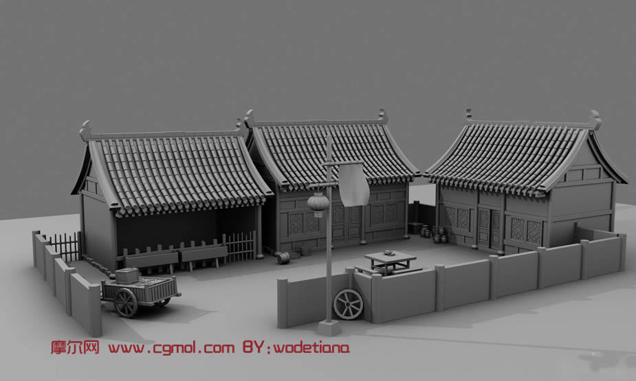 聊城鼓楼最古代城防建筑.位于东昌府区古城中央.