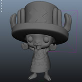 原创乔巴3D模型