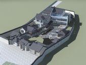 古建别墅3D模型