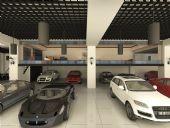 汽车展厅归档3D模型