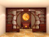 中式家具,复古家具3D模型