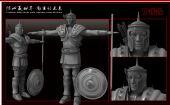 骑士,士兵,武士3D模型