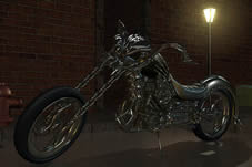 恶灵骑士摩托3D模型