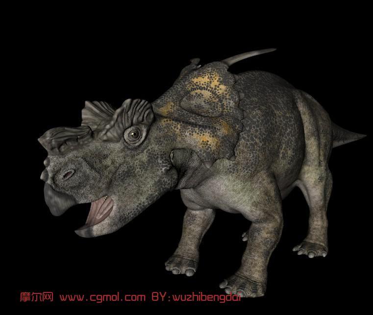 动物模型 爬行动物  关键词:恐龙尖角龙c4d 作品描述: 上一个作品