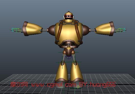 机器人,重甲机器人3d模型