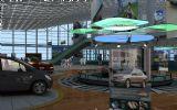 做的超级赞的一个汽车展示厅3D模型