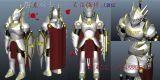 屠龙骑士maya模型