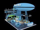 展览展示,科技展台3D模型