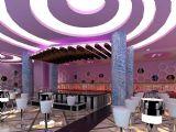 紫色格调酒吧大厅3D模型