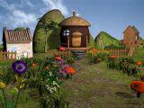 卡通蘑菇房子3D模型