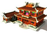 3D游戏场景,阁楼,古建筑,房子模型