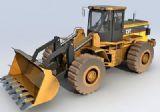 挖土机,机器3d模型