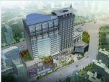 现代商业广场,建筑场景3d模型