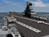 航母,军事3d模型