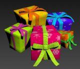 礼盒,道具3d模型