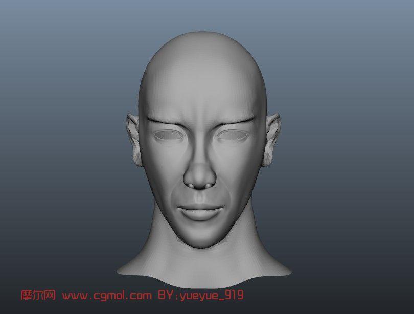人头像3d模型