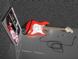 电吉他,乐器3d模型