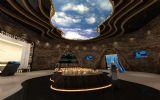 室内展厅3d模型