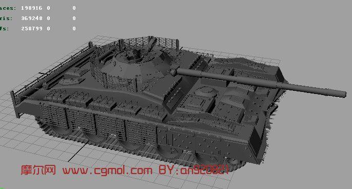 坦克,军事3d模型