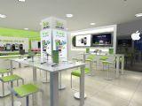 电信营业厅,室内场景3d模型