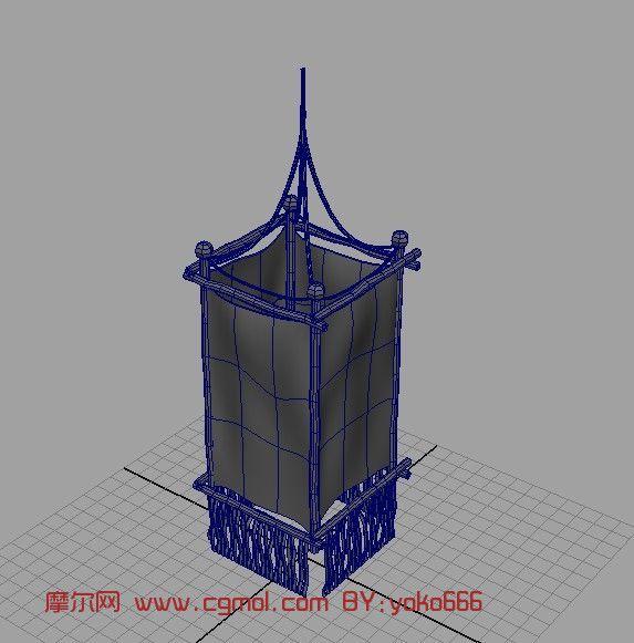 小灯笼3d模型