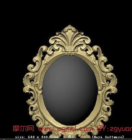 圆镜边框装饰图片集