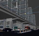 建筑场景3d模型