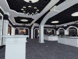 欧式风格珠宝展厅,珠宝店3D模型