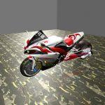 雅马哈R1,巡逻摩托车3D模型
