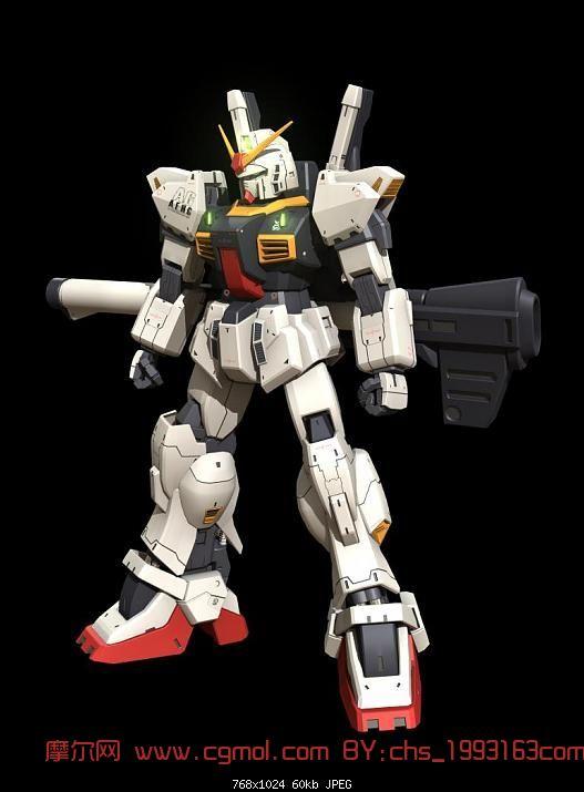 高达 变形金刚 机器人3d模型 机械角色高清图片