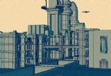 繁华都市,建筑场景3d模型