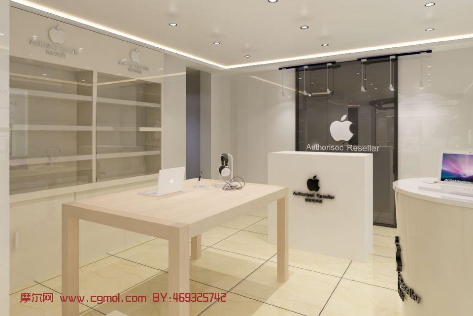 蘋果品牌專賣店 · 商業空間