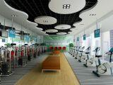 健身专卖店,店面,室内场景max3d模型